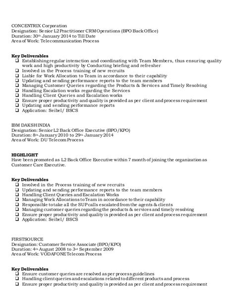 resume 2014 updated bpo regular sap