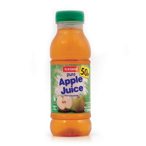 apple juice iceland pure apple juice from concentrate 330ml apple