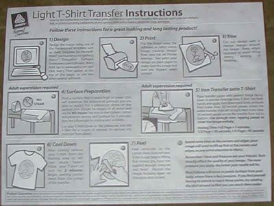avery iron on transfers directions pedestrian infidel april 2008