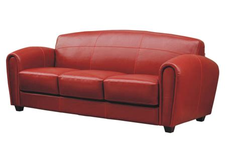 modern red leather couch modern contemporaty red leather cigar art deco sofa couch