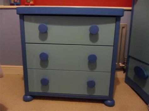 mammut blue chest of drawers stourbridge