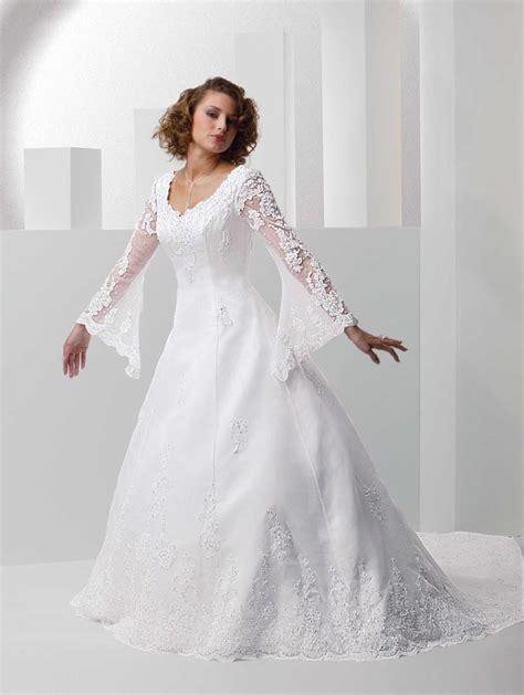 Plus Size Sleeved Wedding Dress – Plus Size Wedding Dresses with Sleeves   Dressed Up Girl