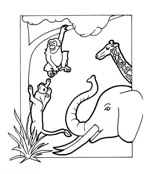 coloring pages god made animals god loves me coloring page god made animals coloring page