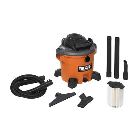 ridgid 12 gal 5 0 peak hp vac wd1270 the home depot
