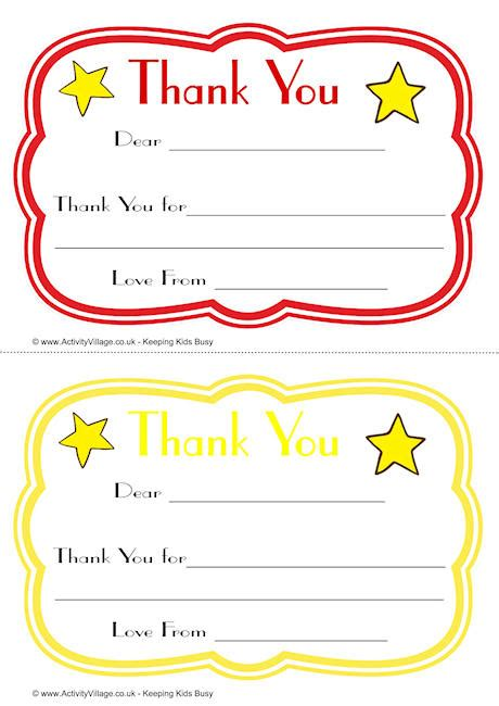 thank you card template for students curvy thank you notes