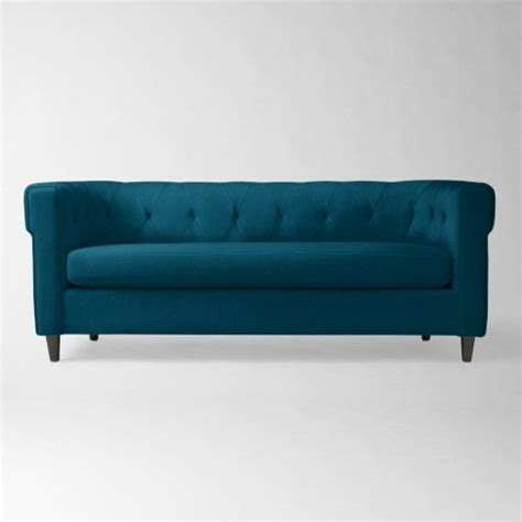 west elm velvet sofa west elm chester tufted upholstered sofa modern sofas
