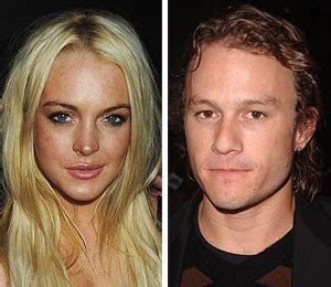 Lindsay And Heath Hollywoods Hook Up by Lindsay Dating Heath Ledger When He Died Extratv