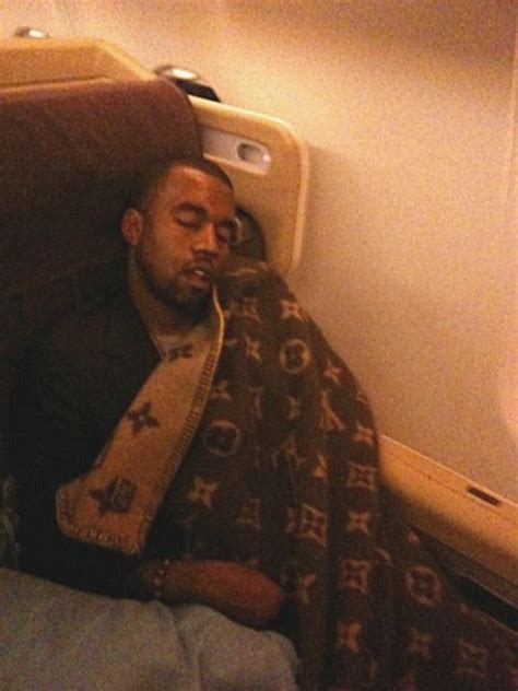 Wes Louisviton kanye west travels with a louis vuitton blanket louis vuitton kanye west louis
