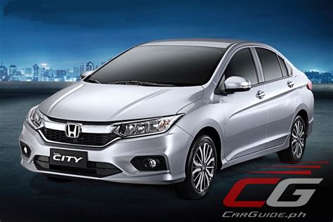 honda philippines honda refreshes city for 2017 the smartest choice w