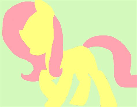 my pony painting my pony friendship is magic images fluttershy i