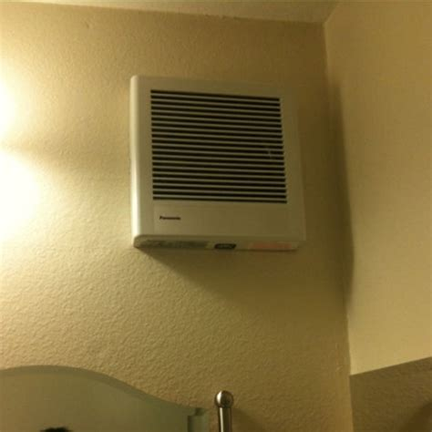 bathroom exhaust fan on wall utility fans whisper wall mounted bathroom fan by