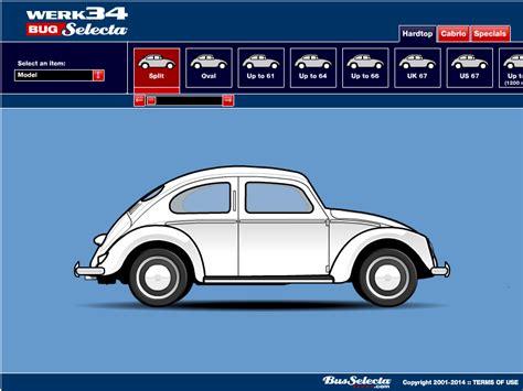 Design Your Own Vw Bug | vw beetle configurator