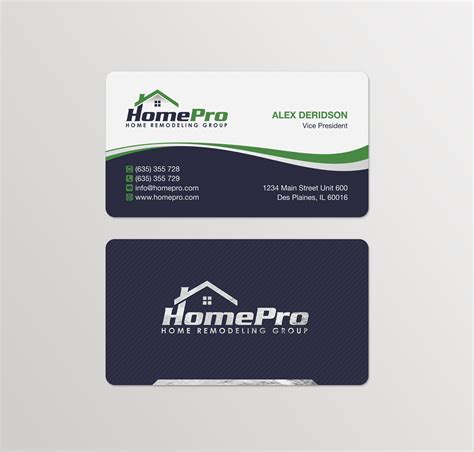 Home Improvement Business Card Template by Home Improvement Business Cards Exles Image Collections