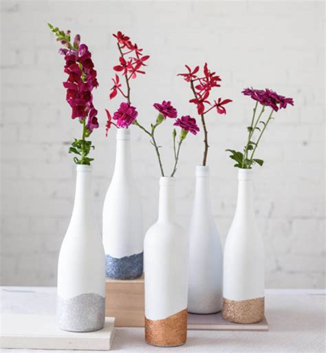Flower Vase Painting Ideas by 5 Unique Creative Ways To Decorate Home With Bottles