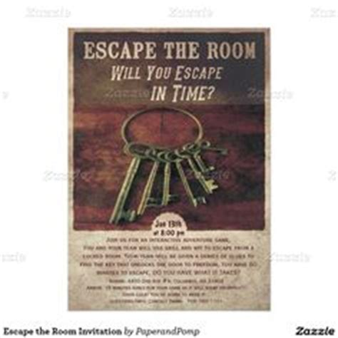 printable escape room puzzles escape room digital printable party invitation mystery