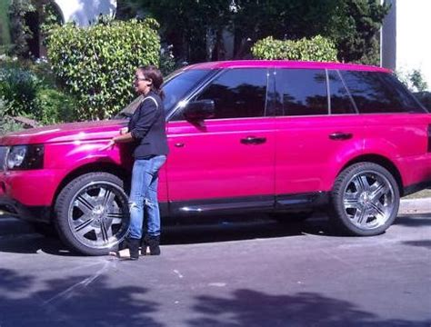 camron pink range rover lala vazquez s pink suv for sale on ebay paying that