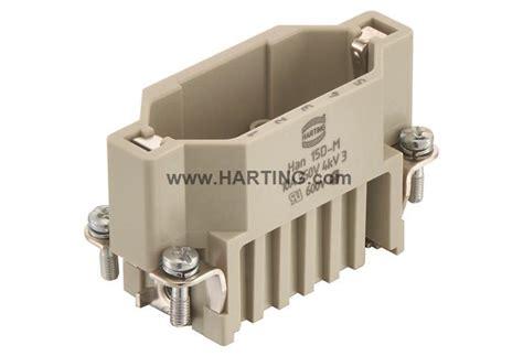 Harting Connector Han D 15pin han d 15 pos m insert crimp harting technology