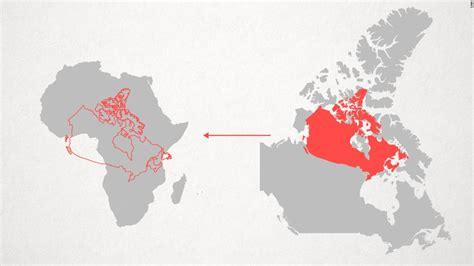 why do western maps shrink africa cnn