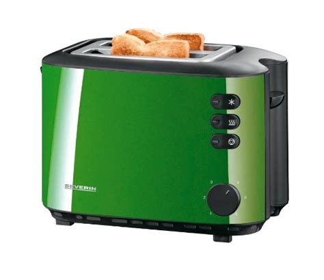 Severin Toaster Comparamus Severin At 2570 Einfarbig Wei 223 Toaster