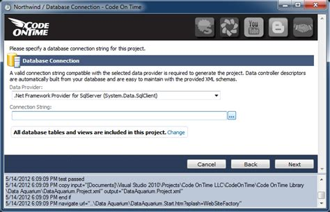 Create A New Desktop Database From The Time Card Template by Sle Applications Northwind Sql Server