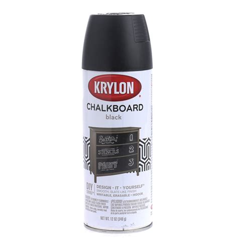 black chalkboard spray paint what s new craft supplies - Black Chalkboard Spray Paint
