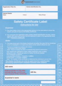 boat registration check qld safety certificate gold coast vehicle roadworhty inspections