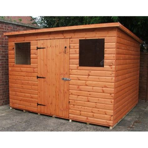 select shed range pent roof