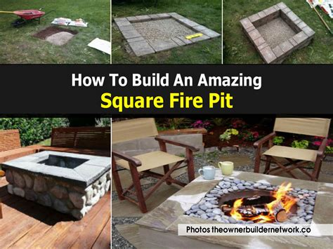 How To Build A Gas Pit In Your Backyard by Triyae Pictures Of Square Pits In A Backyard