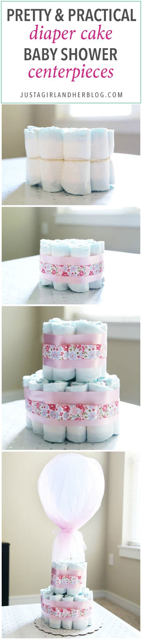 cake baby shower centerpieces just a and