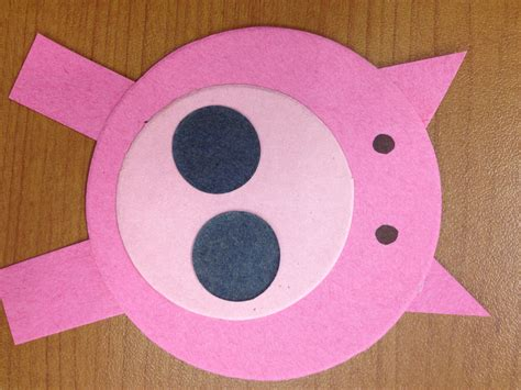 pig crafts for pig storytime narrating tales of preschool storytime