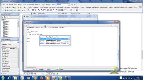 delphi forms tutorial delphi 7 tutorial simple trick how to clear all edit s