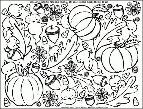 coloring pages autumn coloring pages of fall scenes az coloring pages