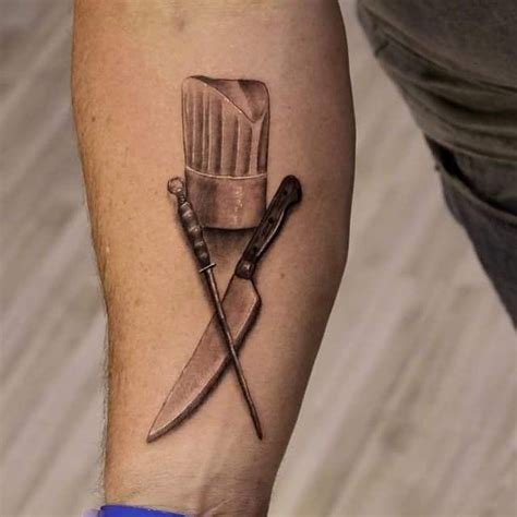 chef knife tattoo 51 chef hat tattoos
