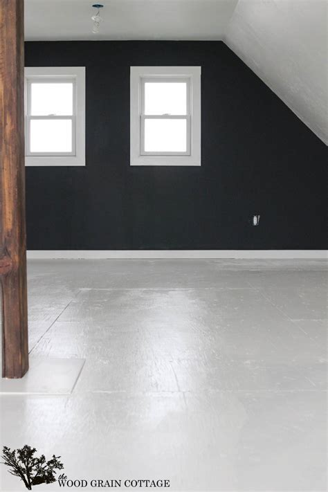 floor is how to paint plywood floors the wood grain cottage