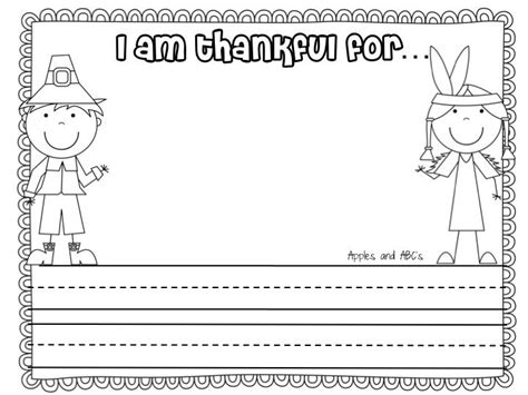 I Am Thankful For Template Pre K Card Free by Best 25 I Am Thankful For Ideas On I My