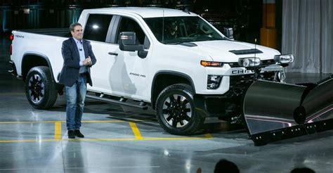 2020 Gmc 3500 Gas Engine by General Motors Gm Reveals 2020 Chevy Silverado 2500hd