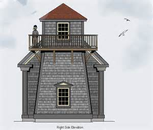 Tower House Plans Lighthouse House Plans With Tower Lighthouse Drawings And