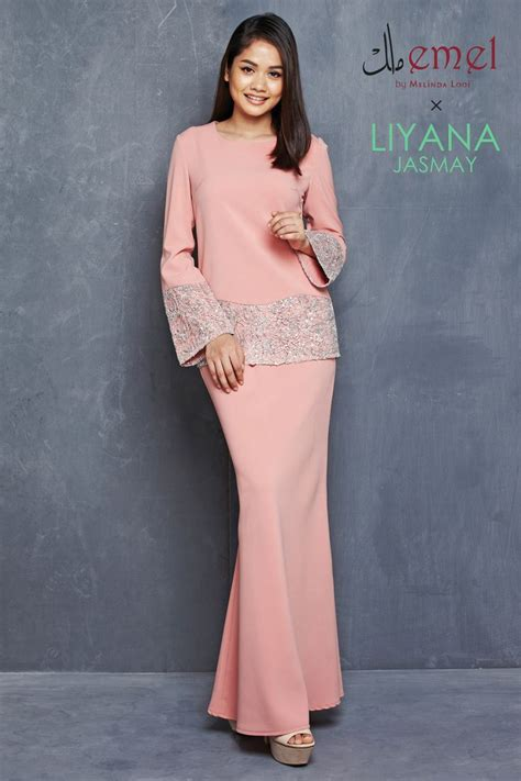baju dress emel x liyana jasmay 2015 collection emel by melinda