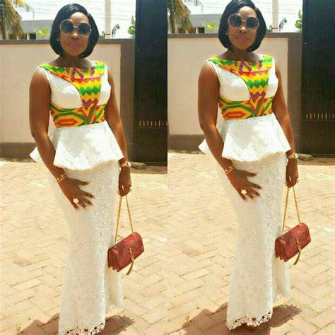 lace kaba styles in ghana mishono 15 mikali ya african prints lace satin na chiffon
