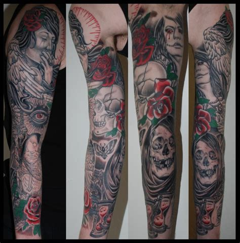 angel sleeve tattoo designs tattoos and designs page 90