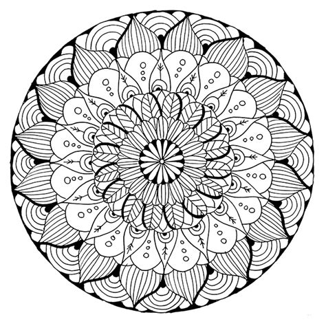 mandala coloring page alisaburke new coloring page in the shop