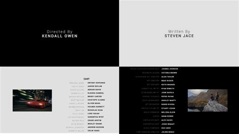 credits template after effects credits corporate after effects templates f5