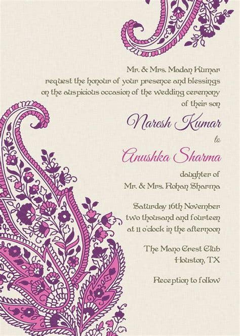 indian engagement cards template indian wedding invitation wording template indian