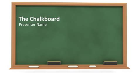 How To Create A Simple Powerpoint Blackboard Presentation Powerpoint Presentation Chalkboard Powerpoint Template