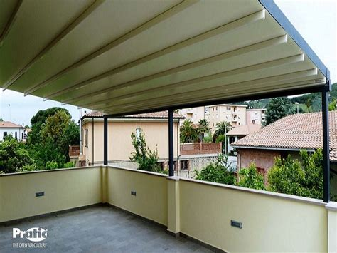 tettoia amovibile coperture per terrazzi