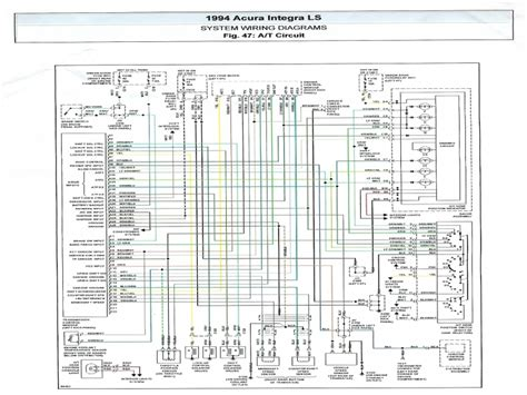 2003 acura tl bose stereo wiring diagram radio at 1990