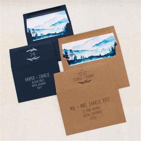 blue mountain wedding invitations blue mountain wedding invitations beacon