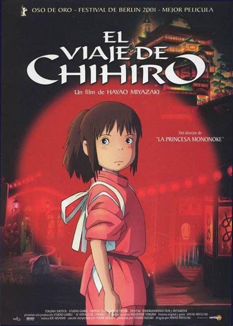 el viaje a la el viaje de chihiro audio castellano pel 237 cula completa youtube