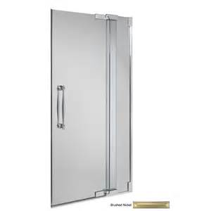 shop kohler frameless pivot shower door at lowes