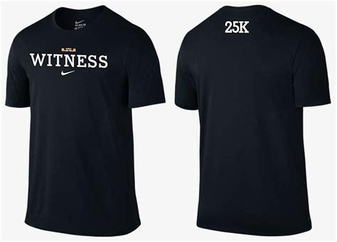 Tshirt Nike Lebron Limited nike lebron 13 25k shirt sneakerfits